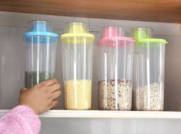 large kitchen canisters 4 pc set kitchen plastic storage canisters large plastic clear