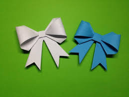 craft ribbon how to make a paper ribbon easy origami ribbons for beginners