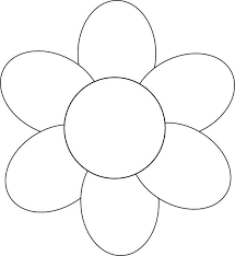 Easy Flower Template free flower templates pertamini co