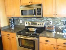 Endearing Design DIY Kitchen Backsplash Ideas Features White Gray - Diy backsplash ideas