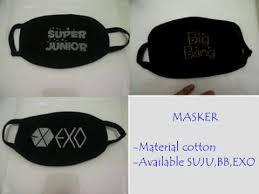Masker Exo hanguk kpop shop selamat datang di hanguk kpop shop page 2