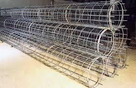 gabbie per ferro per cemento armato ferro presagomato gabbie per pali