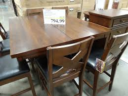 Costco Office Furniture Collections by Charleston 9 Piece Counter Height Dining Set U2013 Discount Alert