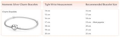 pandora bracelet size images Pandora bracelet sizes jpg