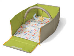 amazon com infantino napnest easy fold travel bed baby for