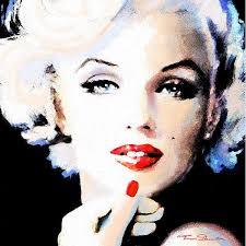 Marilyn Monroe Art 1732 Best Marilyn Monroe Art Paintings By Theo Danella Images On