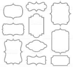 Decorative Frames Stock Vector Art & More of Backgrounds