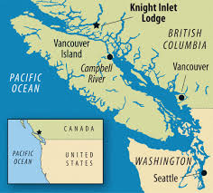 Seattle On Map by Where To See Great Bears In The Great Bear Rainforest Sierra Club