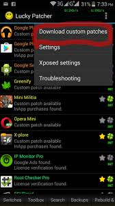 lucky patcher android application and using it get paid apps