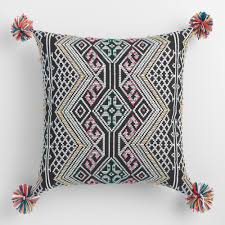 Knot Pillows by Multicolored French Knot Throw Pillow World Market