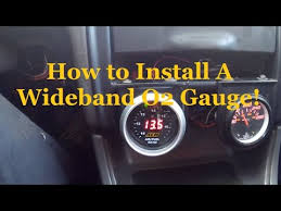 diy aem wideband install youtube