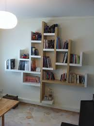 Bookshelves On The Wall Captivating Double Ikea Vertical Bookshelves Teamed With Molding