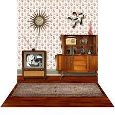 50 u0027s living room photo backdrops and backgrounds