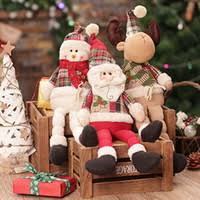 Stuffed Reindeer Christmas Decorations by Dropshipping Christmas Decoration Plush Reindeer Uk Free Uk