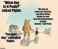 Pooh Meme - pooh and piglet imgflip