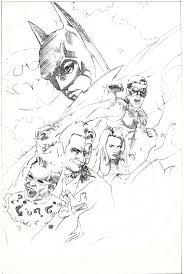 7 batman forever sketch john alvin u2013 eye on design