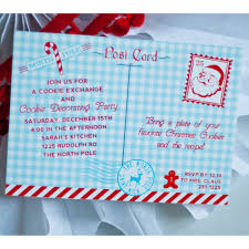 christmas cookie party invitations north pole christmas cookie exchange party printable invitation