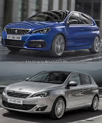 peugeot sedan 2017 2017 peugeot 308 vs 2013 peugeot 308 old vs new