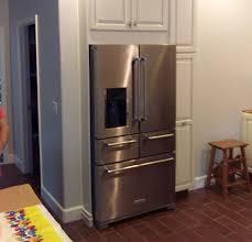 recessed refrigerator woodworx