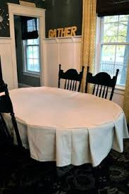 tablecloth for oval dining table stay put tablecloth tutorial food sewing projects and tutorials