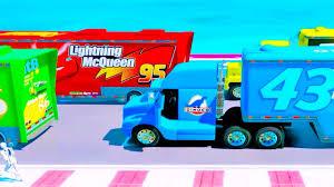 color mack truck haulers disney cars color trucks kids funny