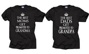 couple t shirt grandfather grandmother new grandpa new grandma
