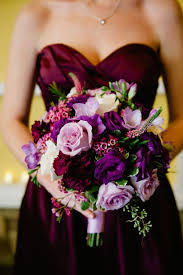 purple wedding bouquets 45 plum purple wedding color ideas deer pearl flowers