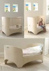 wooden bedside cot variable height nursery furniture baby crib