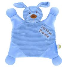 babies r us plush my first blankie blue toys