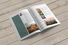 44 page elegant indesign magazine template a4 u2013 layout designer