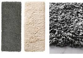 carpet ikea ikea gåser rug runner carpet high pile off white dark grey 56x150