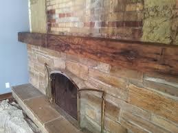 big fireplace renovation