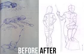 figure drawing fundamentals how to draw people proko