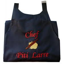 tablier cuisine personnalisé tablier de cuisine personnalisé tablier brodé cadeau personnalisé