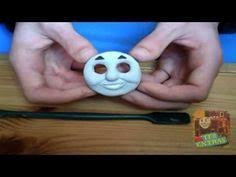 thomas the tank engine cake tutorial how to make his face