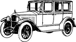 vintage black vintage black and white clipart clipart kid vehicles