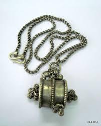 silver chain pendant necklace images Vintage antique tribal old silver chain by tribalsilver on zibbet jpg