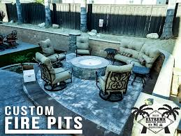 Patio Furniture Costa Mesa by Fire Pits Costa Mesa Extreme Backyard Designs