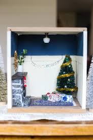 vignette home decor diy miniature christmas vignette love u0026 renovations