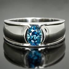blue zircon rings images Oval blue zircon ring jpg