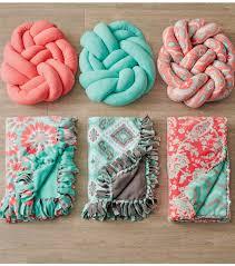 knot pillows knotted fleece pillow joann