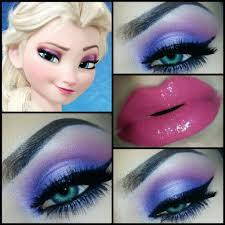 Diy Halloween Makeup Ideas Disney Makeup Tutorials Look Like Elsa Disney U0027s Frozen Makeup