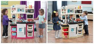 Step Two Play Kitchen by Step2 Great Gourmet Kitchen Set Giveaway Ends 8 19 Social