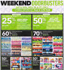 Joann Fabric Black Friday 2016 Joann Ad Scan Buyvia