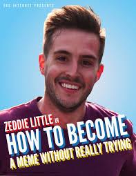 Zeddie Little Meme - zeddie little gets partner in crime plans to run nyc marathon photo