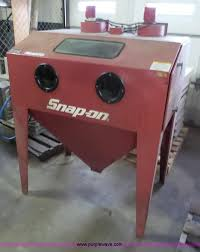 sandblaster cabinet for sale 1999 snap on ya436 sand blast cabinet item bf9057 sold