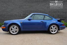 porsche for sale uk porsche 964 911 turbo rhd