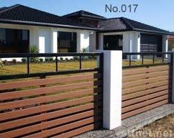 Top  Best Composite Fencing Ideas On Pinterest Plastic - Home fences designs