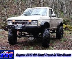 1986 ford ranger 4x4 august 2013 road truck of the month hagan the ranger