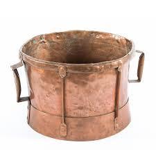 ustensile de cuisine en cuivre antique copper vessel